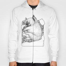 I'm Tired, You're a Lonely Frenchie Hoody