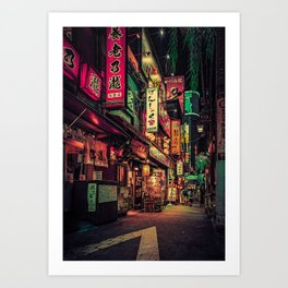 Neo Tokyo II Art Print