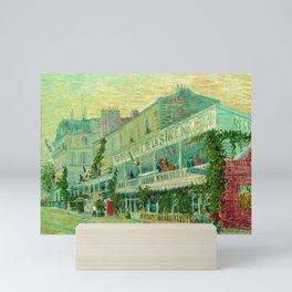 "Vincent Van Gogh ""Le Restaurant de la Sirène à Asnières"" Mini Art Print"