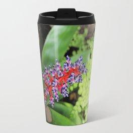 Bromeliad Tropical Plant Travel Mug
