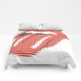 Pantone as pixel Rolling Comforters