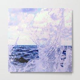 Water Splash Metal Print