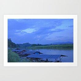Me Khong River Art Print