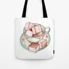 Candies & Sweets: Marshmallows Tote Bag