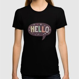 Hello Speech Bubble T-shirt