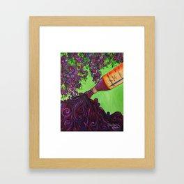 Buon Vino Framed Art Print
