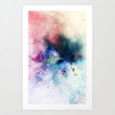 Everything is nothing 17 (therefore it was beautiful) Art Print