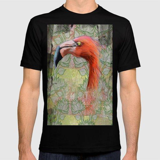Red big bird T-shirt