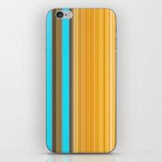 Sablo Lio Blue Yellow iPhone & iPod Skin