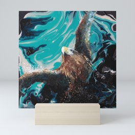 Soaring Through The Sky Mini Art Print