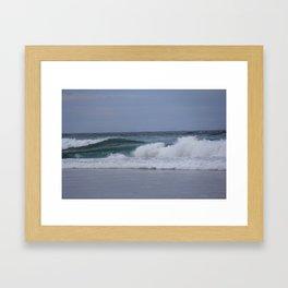Rolling Waves Framed Art Print