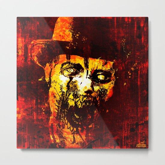 Zombie - WW Metal Print