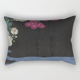 The beauty already there.  Rectangular Pillow
