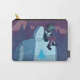Robokid in the Forest Carry-All Pouch