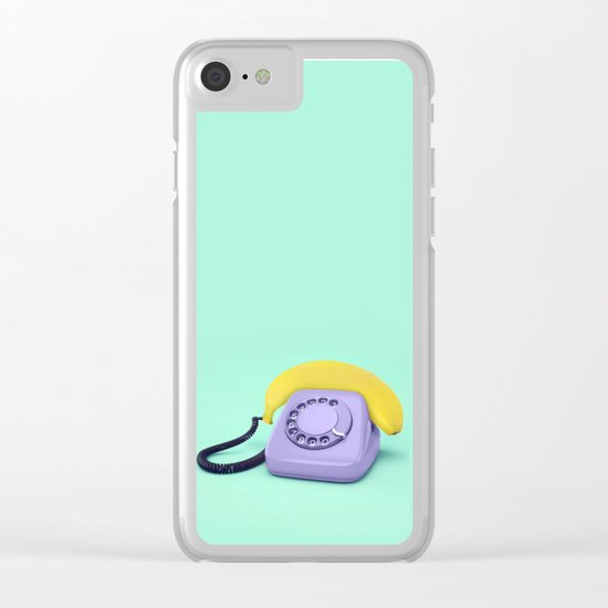 HELLO BANANA Clear iPhone Case