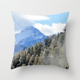 Where Dragons Hide Throw Pillow