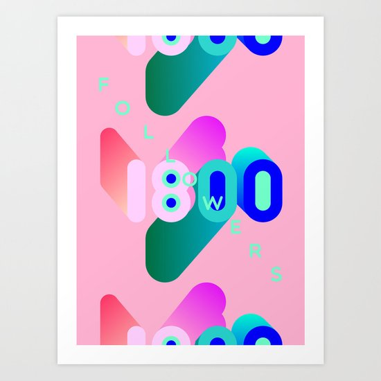 1800 Art Print