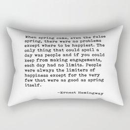 When spring come... Rectangular Pillow