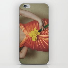 fleurs de printemps iPhone Skin