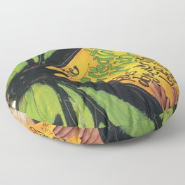 Butterfly  ( The Creative Mind) Floor Pillow