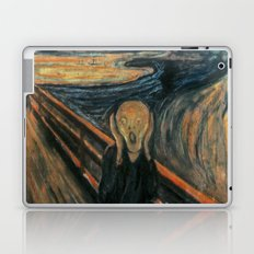 The Scream by Edvard Munch Laptop & iPad Skin