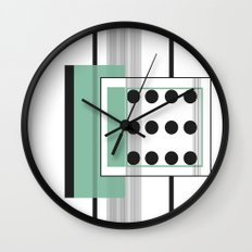 Dominoeffekt Wall Clock