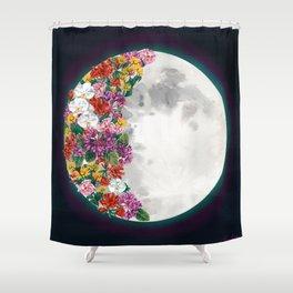 Flower Moon Shower Curtain