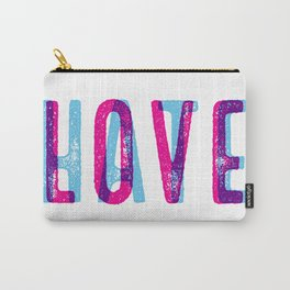 LOVE over HATE Carry-All Pouch