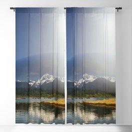 Mount Shuksan over Lake Baker Blackout Curtain