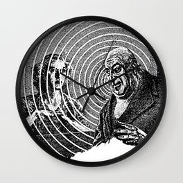 The Thing on the Floor Wall Clock