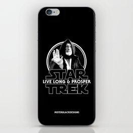 Live Long & Nerd Rage iPhone Skin
