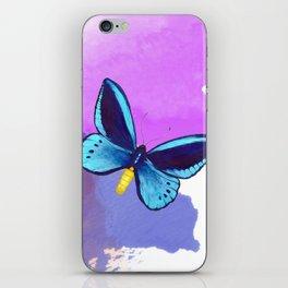 Blueberry Breeze iPhone Skin