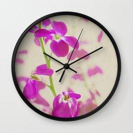 Evening Stock Wall Clock