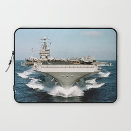 Aircraft Carrier Warship Laptop Sleeve