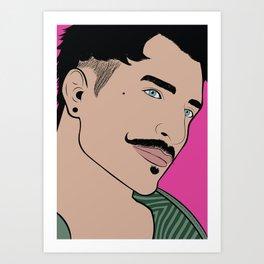 DP Pop Art color Art Print