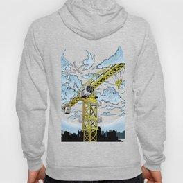 Tower Crane In The SKY Hoody