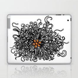 Burst of Swirls Doodle Laptop & iPad Skin