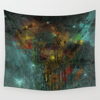 africa Wall Tapestries featuring Africa by  Agostino Lo Coco