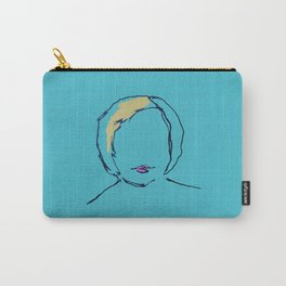 Self Portrait as a Blonde Carry-All Pouch