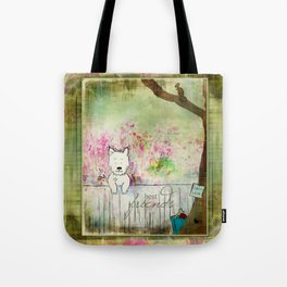 Dog's Best Friend Tote Bag