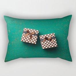 Christmas present box Rectangular Pillow