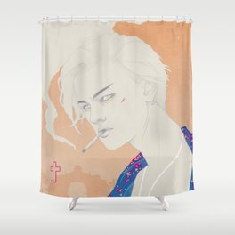 I Defy You Stars Shower Curtain