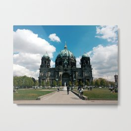 Berlin Cathedral, Berliner Dom, Germany travel photography Metal Print