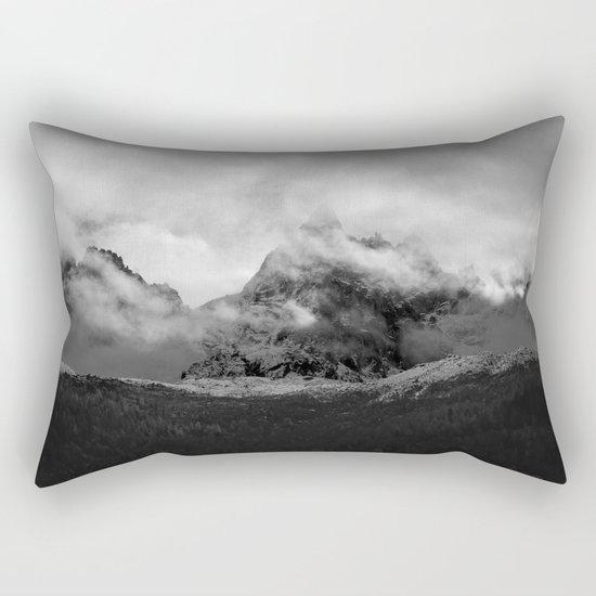 French Alps, Chamonix, France. Rectangular Pillow