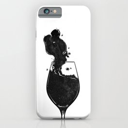 Mind wanders. iPhone Case