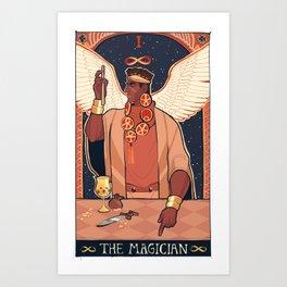 MAGICIAN'S RED (I) Art Print