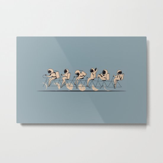 The Great Lunar Cycle Metal Print