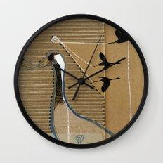 turnalar (cranes) Wall Clock