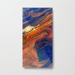 Liquid Acrylic 19 Metal Print