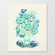 Many Heads are Better than None Canvas Print
